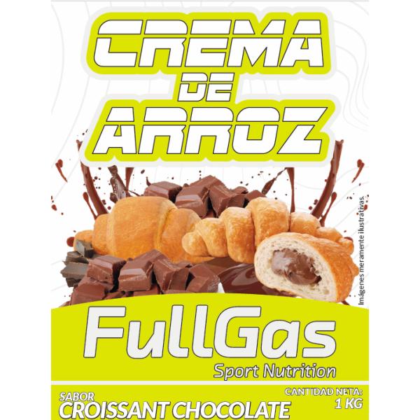 CREMA DE ARROZ Croissant Chocolate 1kg