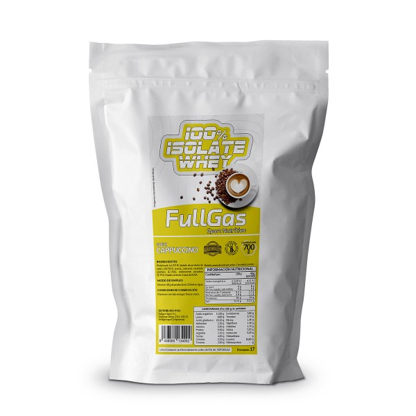 100% ISOLATE WHEY Capuccino 700g