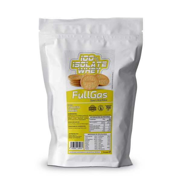 100% ISOLATE WHEY Galleta María 700g