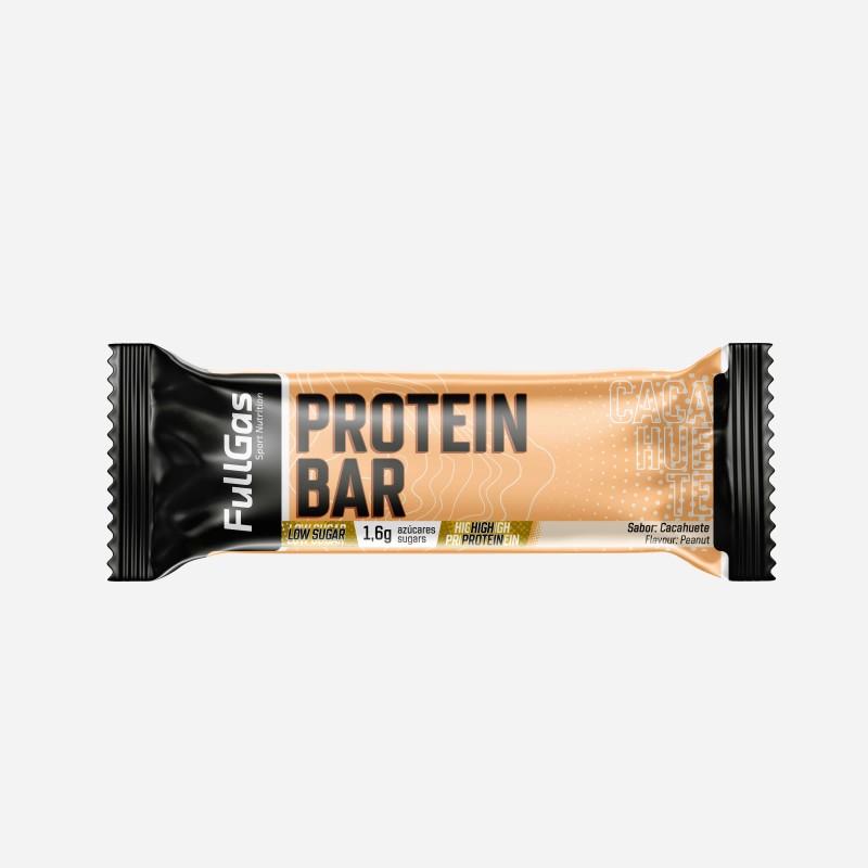PROTEIN BAR - Low sugar - Cacahuete 35g