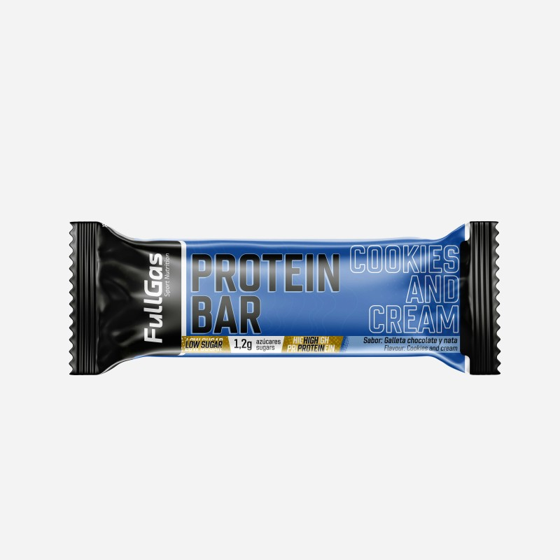 PROTEIN BAR - Low sugar - Cookies and cream 35g