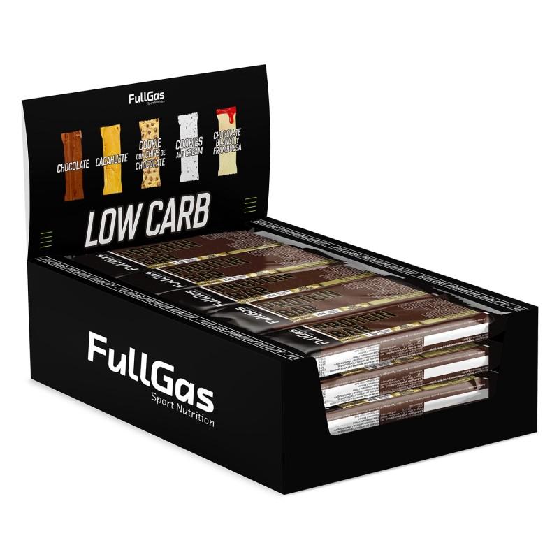Caja (16u) PROTEIN BAR - Low sugar - Chocolate 35g