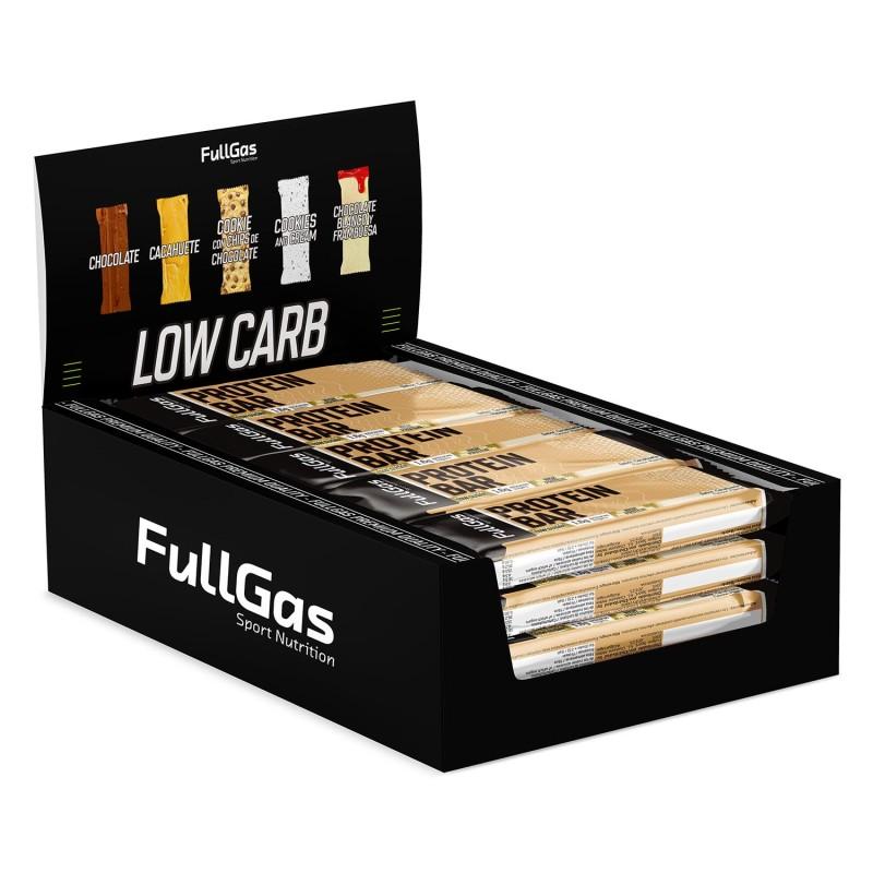 Caja (16u) PROTEIN BAR - Low sugar - Cacahuete 35g