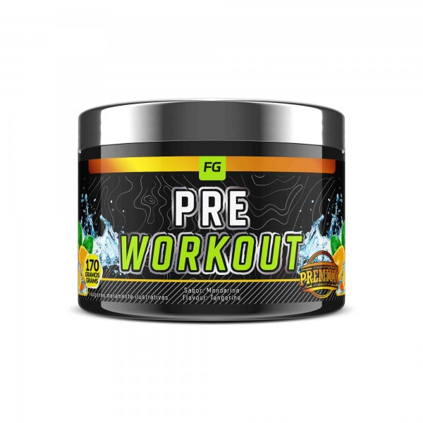 Pre-Workout Mandarina  170g