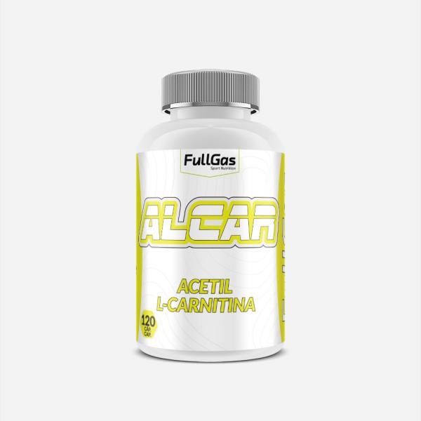 ALCAR (Acetil L-Carnitina) 120 cáps