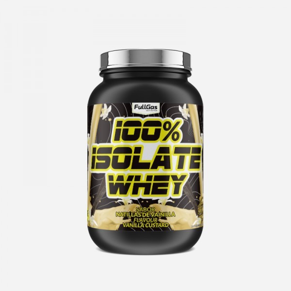 100% ISOLATE WHEY Vainilla 700g