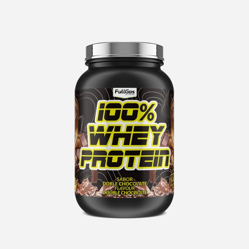 100% WHEY PROTEIN CONCENTRATE Doble Chocolate 1,8kg