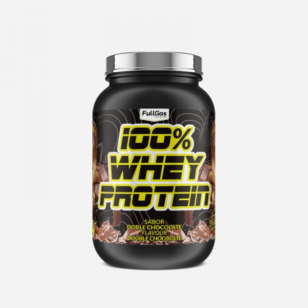 100% WHEY PROTEIN CONCENTRATE Doble...