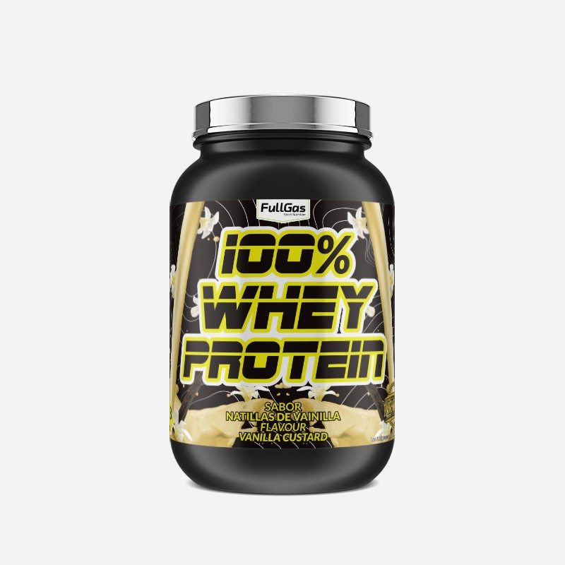 100% WHEY PROTEIN CONCENTRATE Vainilla 1,8kg