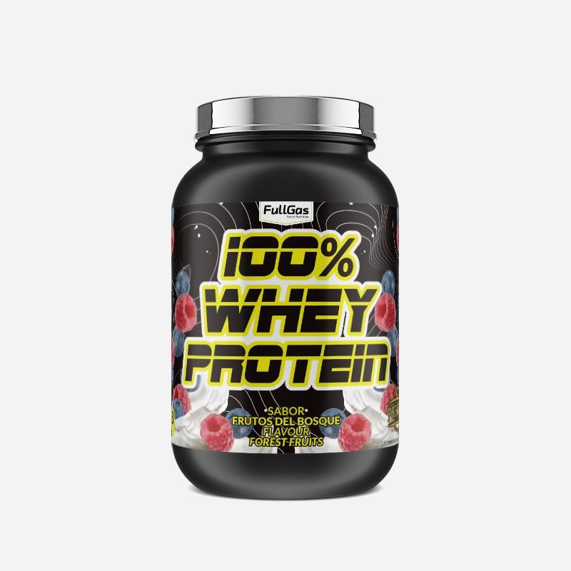 100% WHEY PROTEIN CONCENTRATE Frutas del Bosque 1,8kg