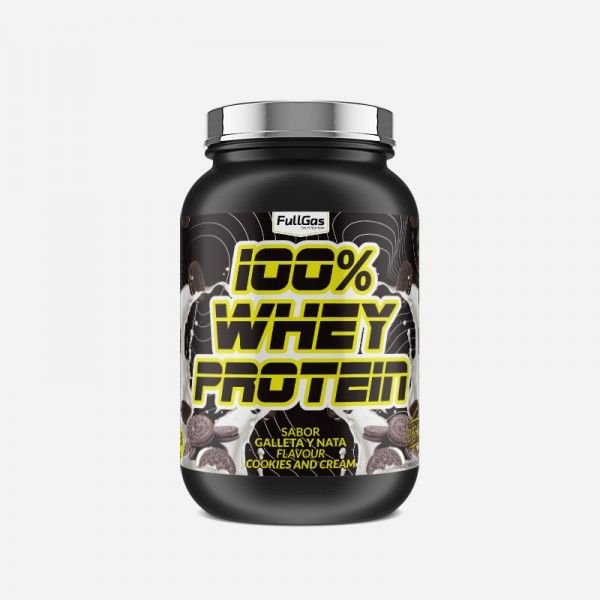 100% WHEY PROTEIN CONCENTRATE Cookies...
