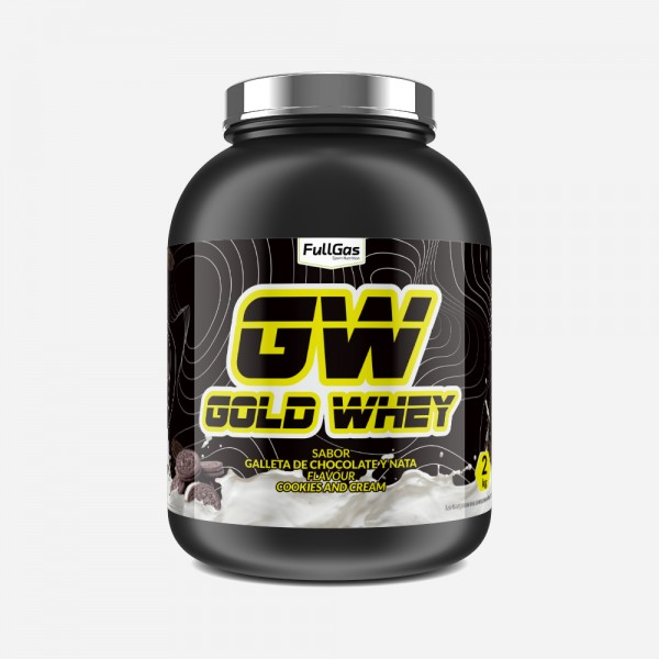 GOLD WHEY Cookies and Cream 4kg