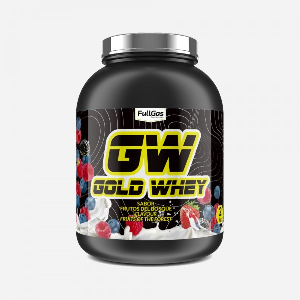 GOLD WHEY Frutas del Bosque 2kg