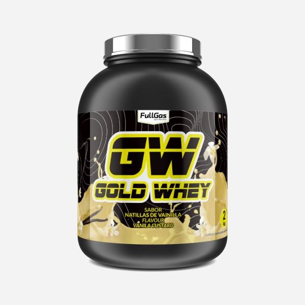 GOLD WHEY Natillas Vainilla 4kg