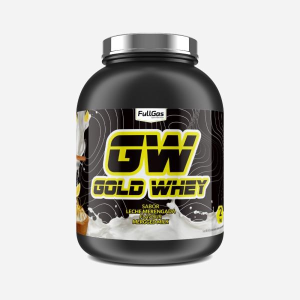 GOLD WHEY Leche Merengada 4kg