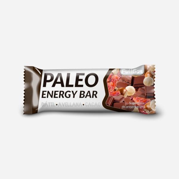 Paleo Energy Bar Avellana-Cacao 50g