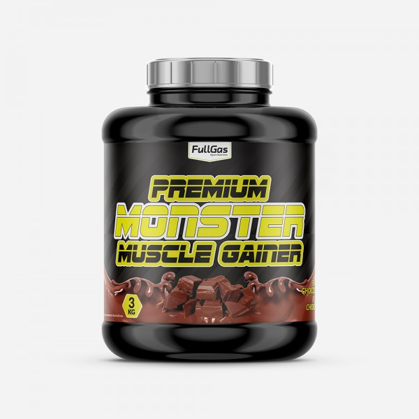 MONSTER Premium Gainer Chocolate 3kg